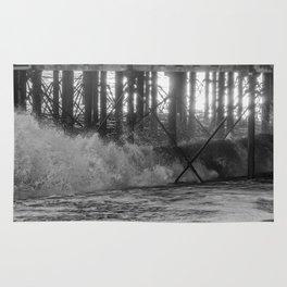 Waves. Rug
