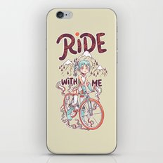 Ride With Me iPhone & iPod Skin