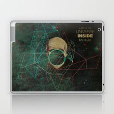 A Part Of The Universe Inside My Head Laptop & iPad Skin