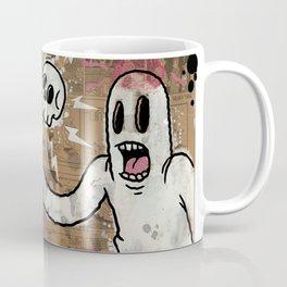 THE CARTOON CAT PINK Coffee Mug