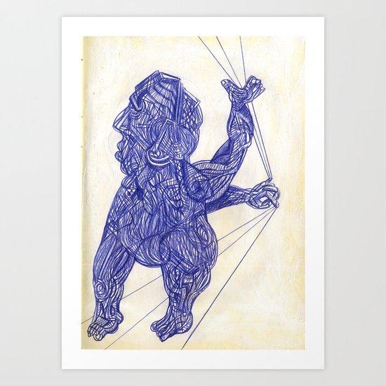 "2004-08-10, ""RETROCEDE"" Art Print"