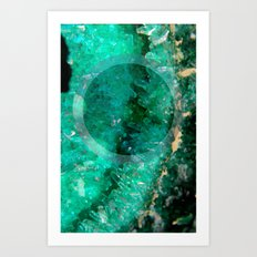 Crystal Round III Art Print