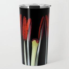 Part of a flower Macro Travel Mug