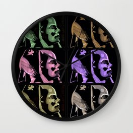 Pharaoh Colors Wall Clock