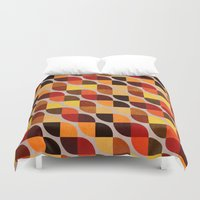 mandie manzano Duvet Covers featuring Ancestry by Diogo Verissimo