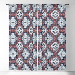 Native American Navajo pattern III Blackout Curtain