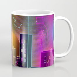 Neon City Coffee Mug