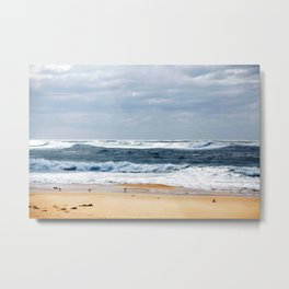 Nobbys Beach Metal Print