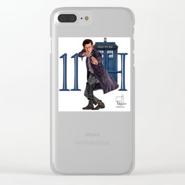 11th Doctor Clear iPhone Case