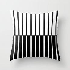 Zebra Plays Piano Throw Pillow