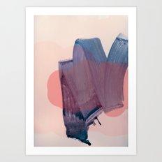 brush strokes 1 Art Print