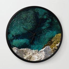 Cyprus Sea III Wall Clock