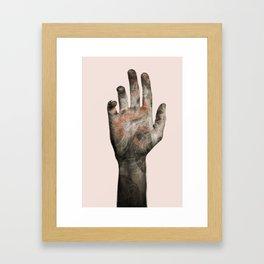Dragon palm Framed Art Print