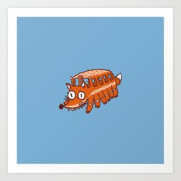 Catbus Fox Art Print