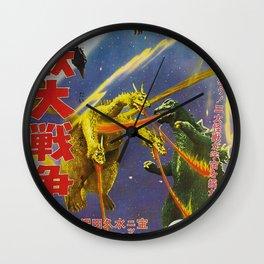 Godzilla 15 Wall Clock