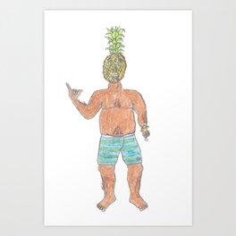 Greg. Art Print