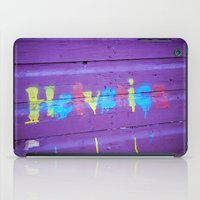 helvetica iPad Cases featuring Helvetica Graffiti by Kelsey Horne Photographs