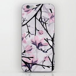 Magnolia Pattern iPhone Skin