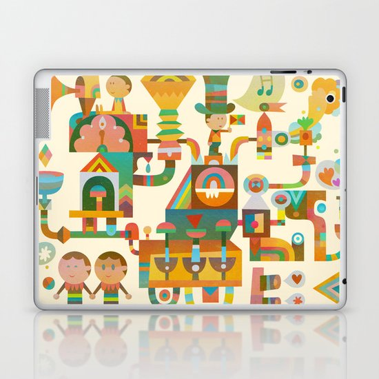 The Chipper Widget Laptop & iPad Skin