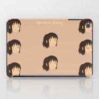 chihiro iPad Cases featuring Spirited Away Chihiro by bonieiji