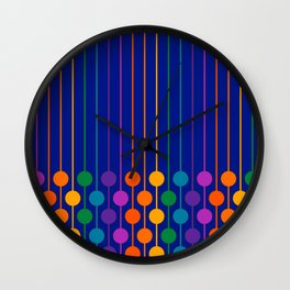Boardwalk Sixlet Wall Clock
