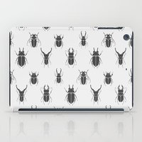 bugs iPad Cases featuring bugs by  Prokhor Piskarev