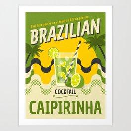BRAZILIAN CAIPIRINHA Art Print