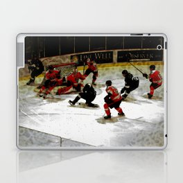 The End Zone - Ice Hockey Game Laptop & iPad Skin