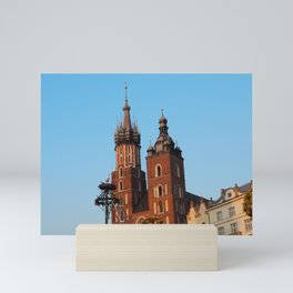 St. Mary's Basilica  - Krakow Mini Art Print