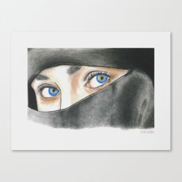 One look Canvas Print