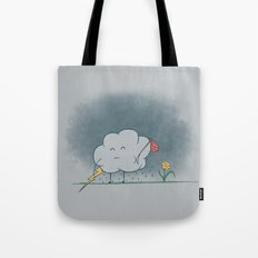 I wandered lonely as a cloud.  Tote Bag