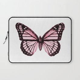 Monarch Butterfly Pink Dream Laptop Sleeve