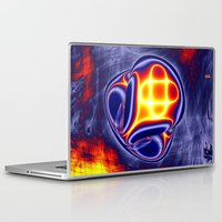 ufo Laptop & iPad Skins featuring ufo by donphil
