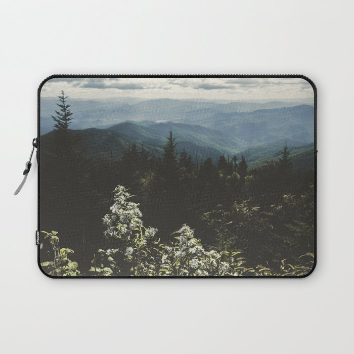 Smoky Mountains - Nature Photography Laptop Sleeve