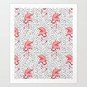 Flamingos and Polka Dots by Katrina Ward by katrinaward