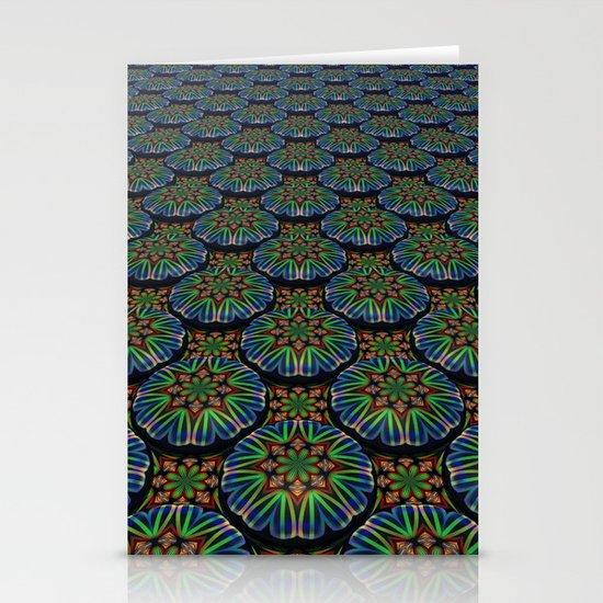 Kaleidoscope Pattern Stationery Cards