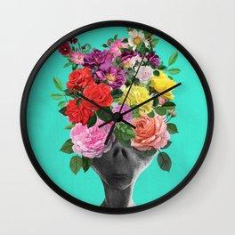 Alien Bouquet  Wall Clock