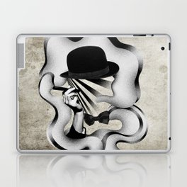 gentle smoke Laptop & iPad Skin