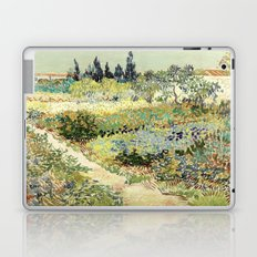 Vincent Van Gogh : Garden at Arles Laptop & iPad Skin