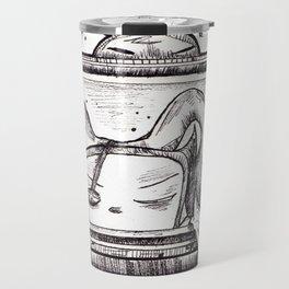 Something on? Travel Mug