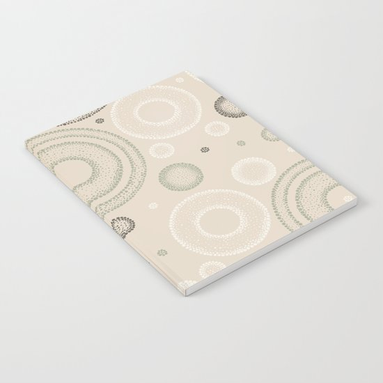 Retro Dotted Pattern 03 Notebook
