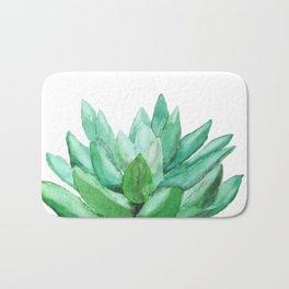 succulent echeveria Bath Mat