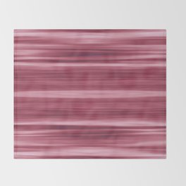 Abstraction Serenity in Rose Throw Blanket