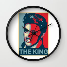 Elvis The King Wall Clock