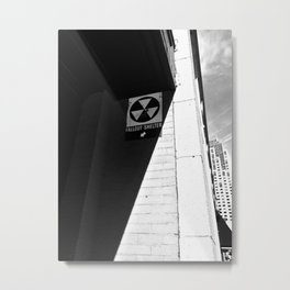 Fallout Shelter Metal Print