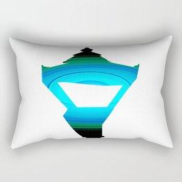 Concentric Lamppost  Rectangular Pillow