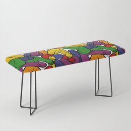 Schlong Song in Rainbow, All the Penis! Bench