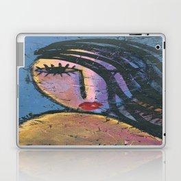 Beautiful Girl Abstract Portrait of a Woman Laptop & iPad Skin