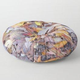 leaf litter menagerie Floor Pillow
