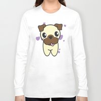 aurora Long Sleeve T-shirts featuring Aurora by DogRocketsCartoons